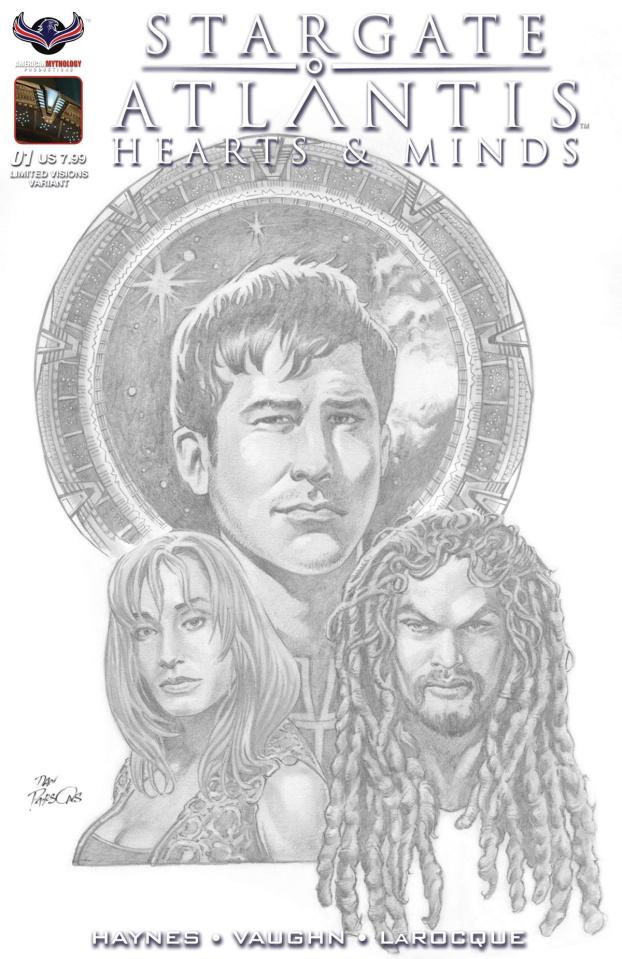 Stargate Atlantis: Hearts & Minds #1 (Photo Cover)
