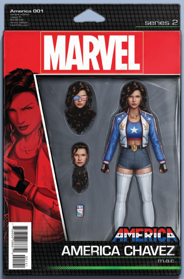 America #1 (Christopher Action Figure Cover)