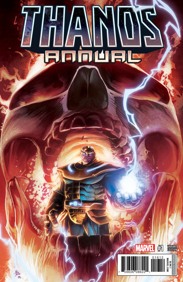 Thanos Annual #1 (Deodato Cover)