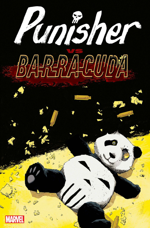 The Punisher vs. Barracuda #2 (Shalvey Cover)
