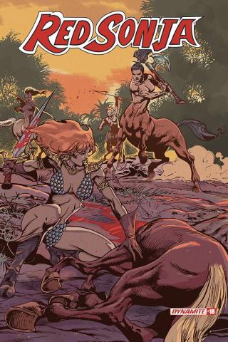 Red Sonja #18 (Castro Bonus Cover)