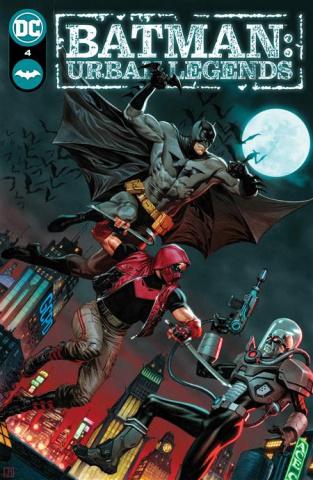 Batman: Urban Legends #4 (Jorge Molina Cover)