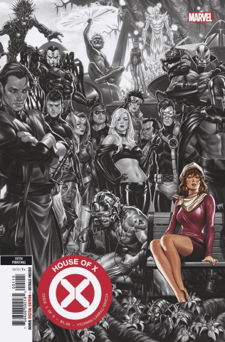 House of X #1 (Brooks 5th Printing)
