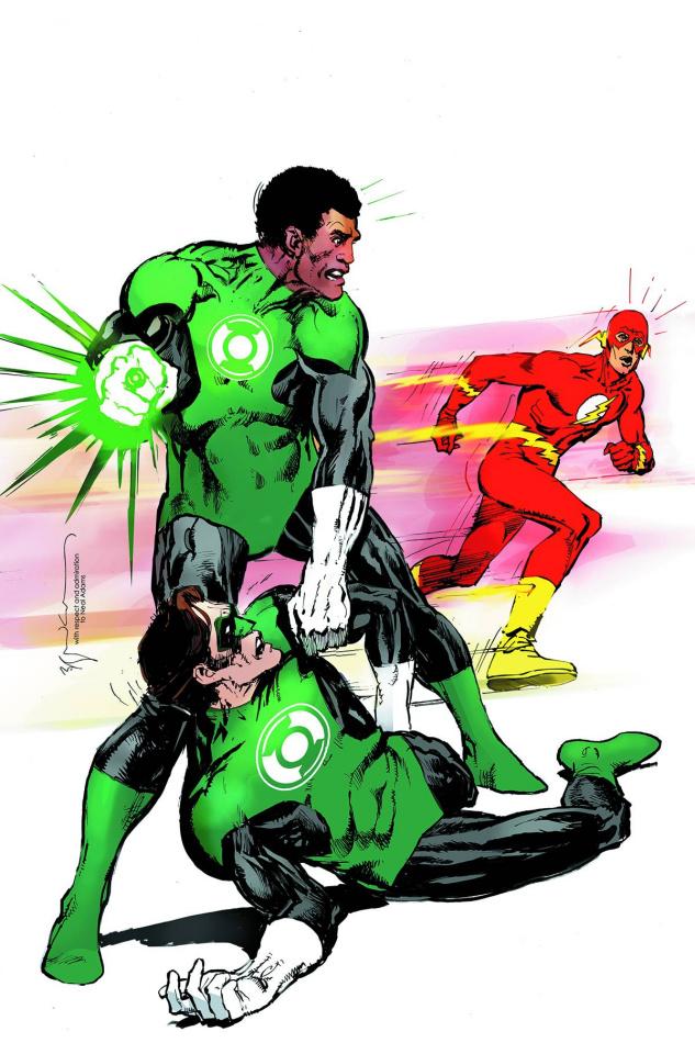 Green Lantern Corps #38 (Flash Cover)