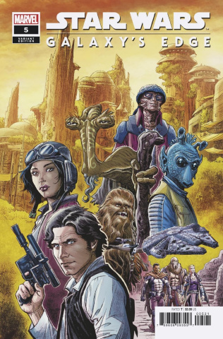 Star Wars: Galaxy's Edge #5 (Luke Ross Cover)