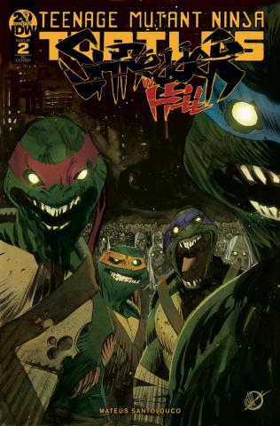 Teenage Mutant Ninja Turtles: Shredder in Hell #2 (10 Copy Scalera Cover)