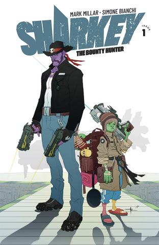 Sharkey, The Bounty Hunter #1 (Yildirim Cover)