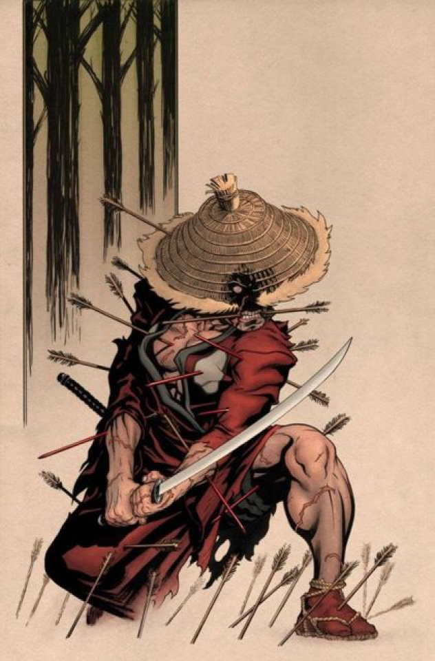 5 Ronin #5 (McGuiness Variant)