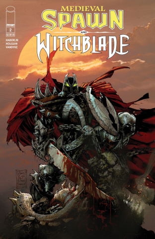 Medieval Spawn and Witchblade #2 (Capullo Cover)