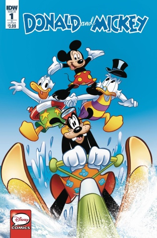 Donald and Mickey #1 (Petrossi & Prost Cover)