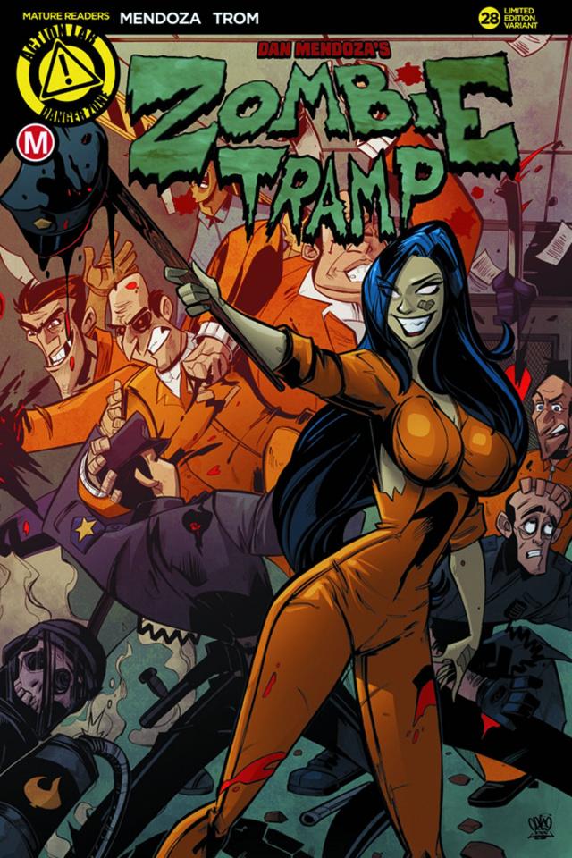 Zombie Tramp #28 (Prison Riot Cover)