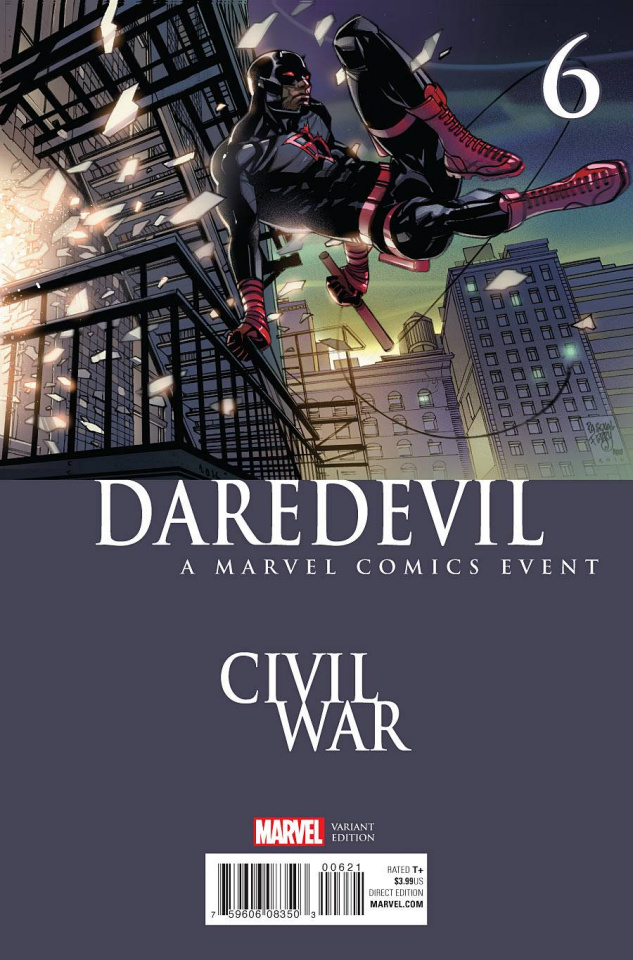 Daredevil #6 (Noto Civil War Cover)