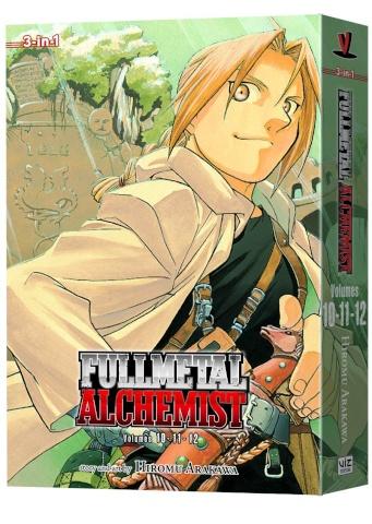 Fullmetal Alchemist Vol. 4 (3-In-1 Edition)