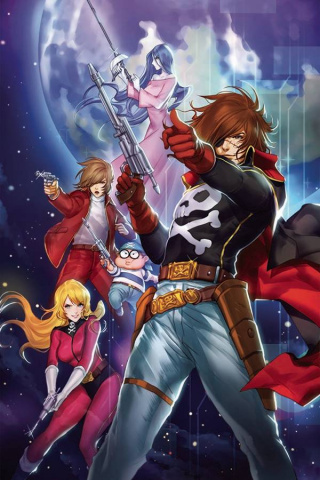 Space Pirate: Captain Harlock #1 (Leirix Li Cover)