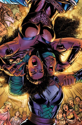 Nubia and The Amazons #2 (Alitha Martinez Cover)