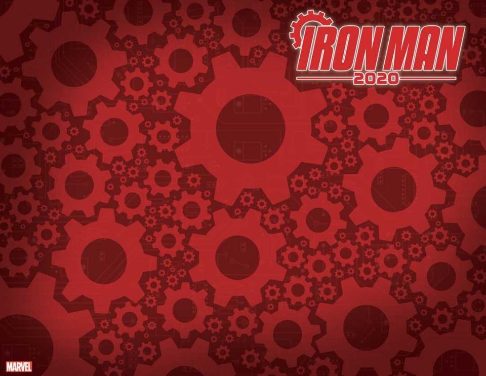 Iron Man 2020 #1 (Gear Design Cover)