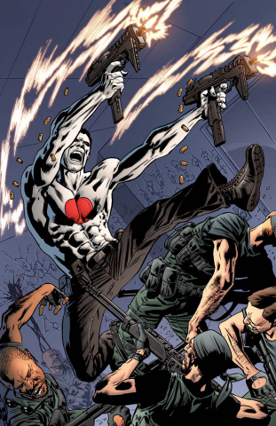 Bloodshot #25 (50 Copy Hitch Cover)