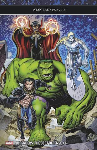 The Defenders: The Best Defense #1 (Art Adams Cover)