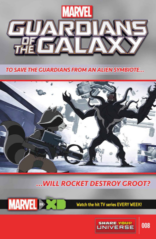 Marvel Universe: Guardians of the Galaxy #8