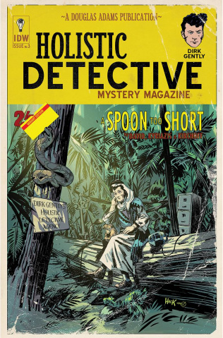 Dirk Gently's Holistic Detective Agency: A Spoon Too Short #3 (Subscription Cover)