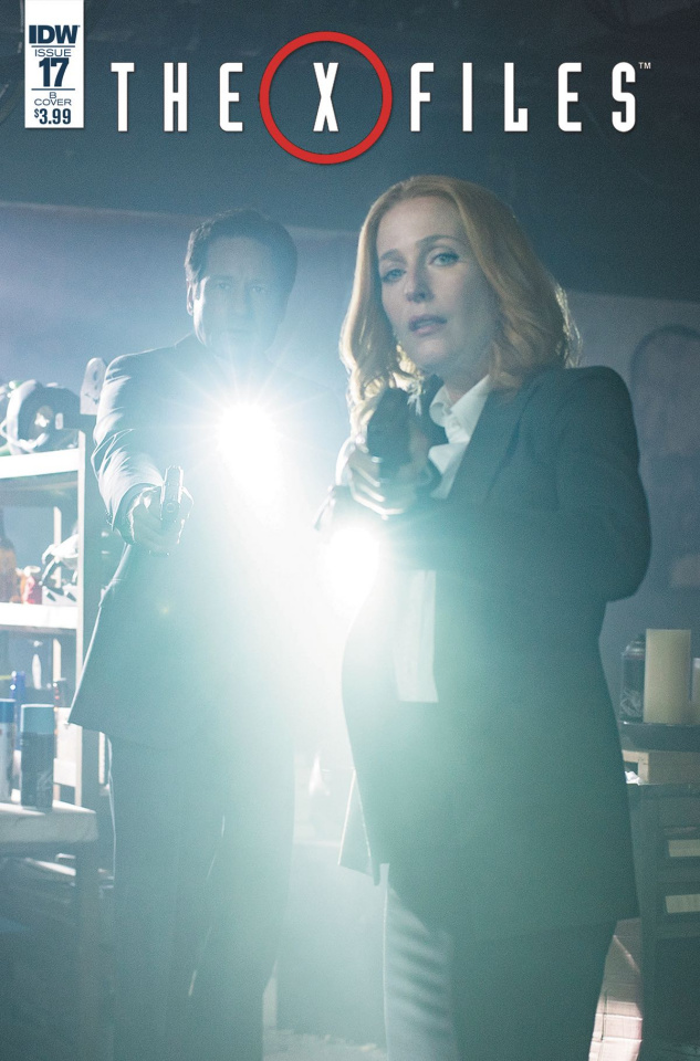 The X-Files #17 (Photo Cover)