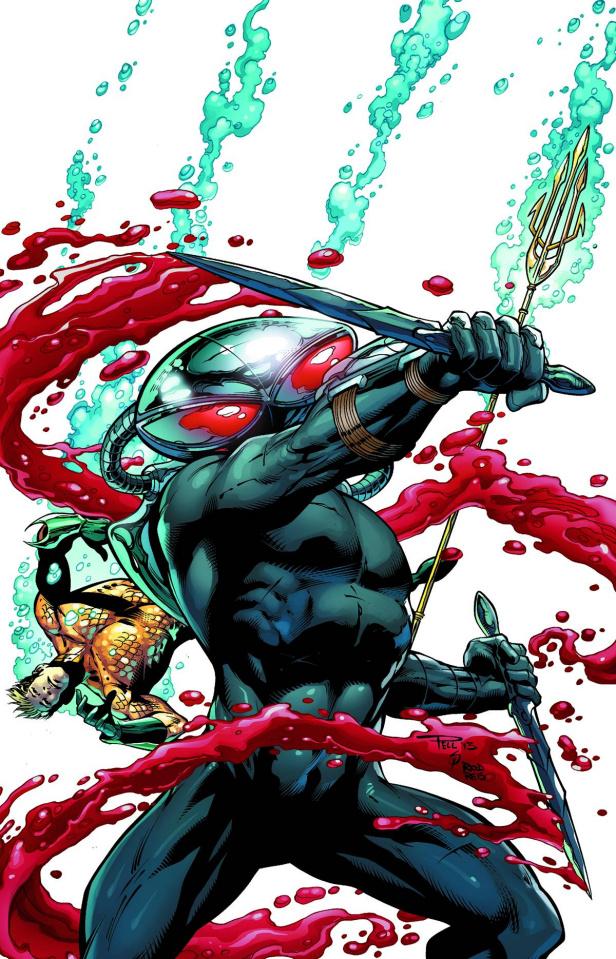 Aquaman #23.1: Black Manta