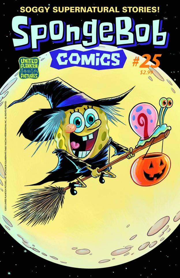 Spongebob Comics #25