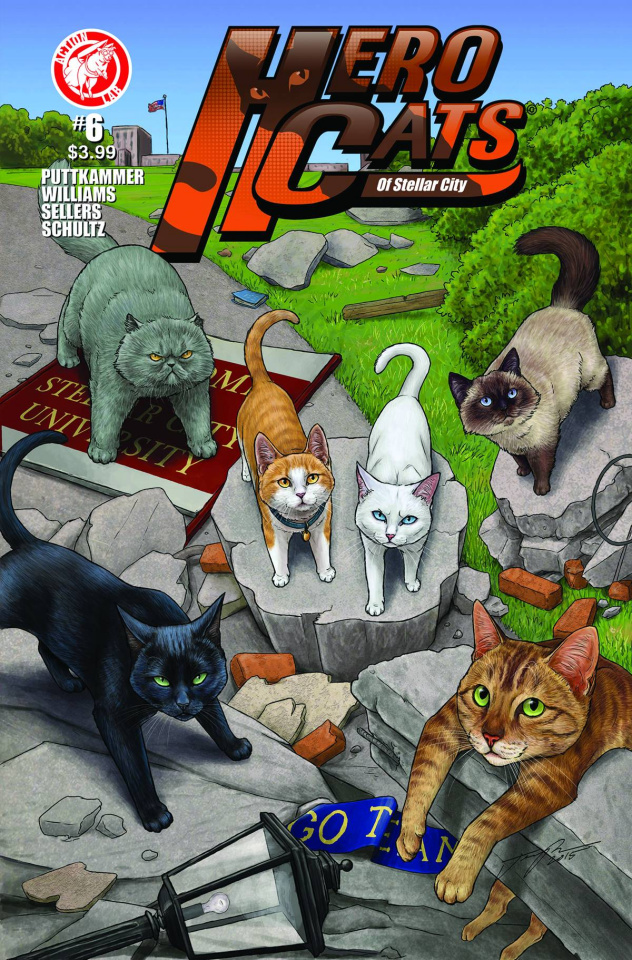 Hero Cats #6