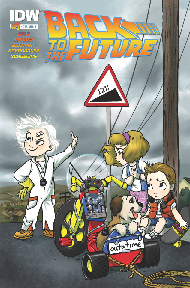 Back to the Future #1 (Cover B)