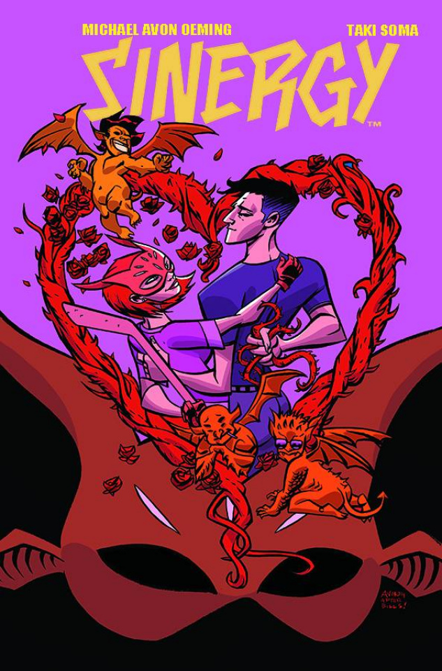 Sinergy #4 (Oeming Cover)
