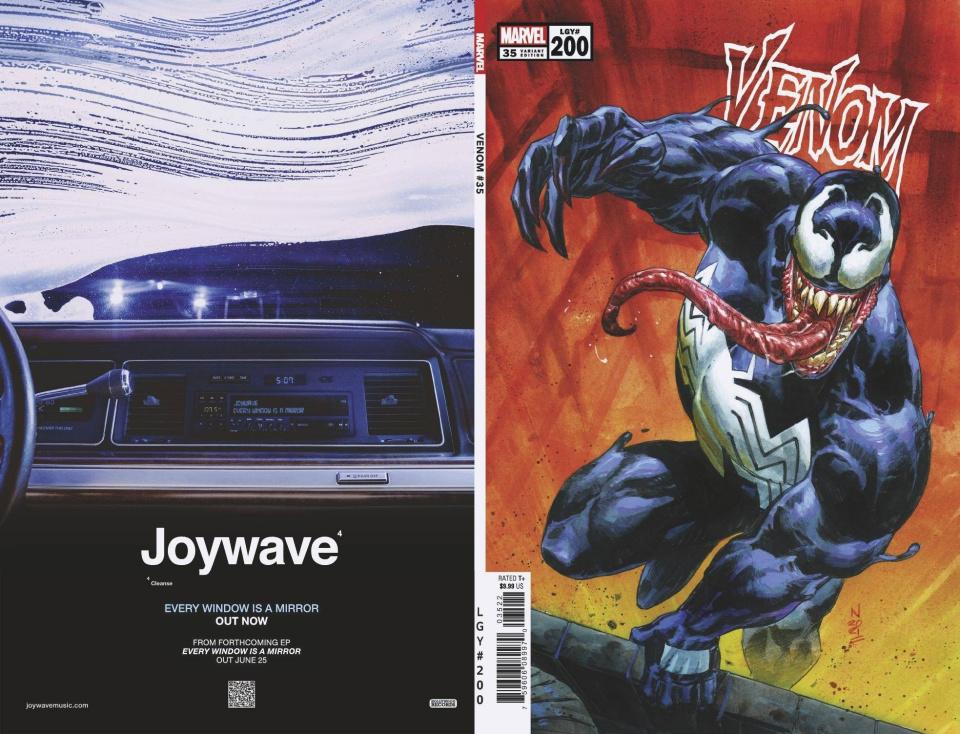 Venom #35 (Klein 200th Issue Cover)