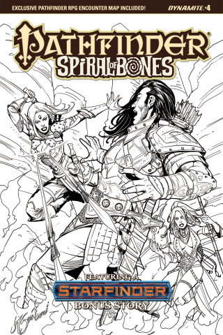 Pathfinder: Spiral of Bones #4 (20 Copy Santucci Cover)