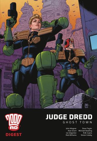 Judge Dredd: Ghost Town 2000 AD Digest