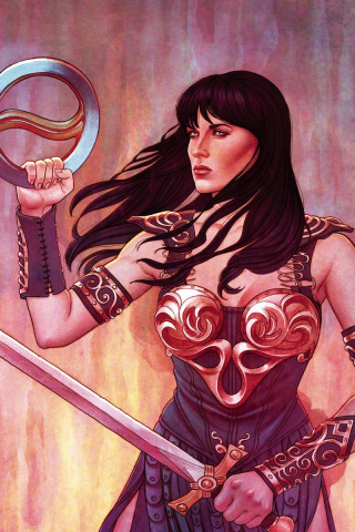 Xena: Warrior Princess #1 (25 Copy Frison Virgin Cover)
