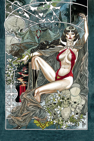 Vampirella #6 (40 Copy March Virgin Cover)
