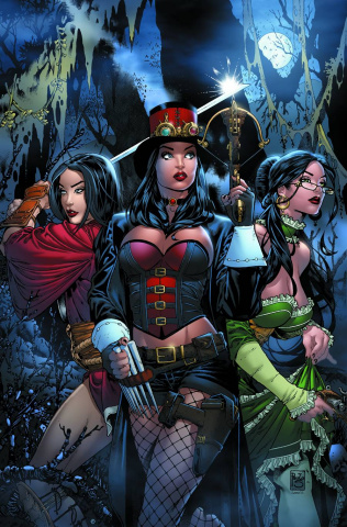 Grimm Fairy Tales: Hunters - Shadowlands #1 (Siqueira Cover)