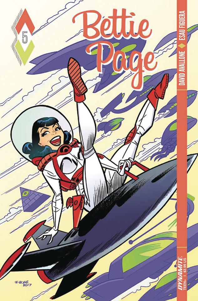 Bettie Page #5 (Bone Cover)