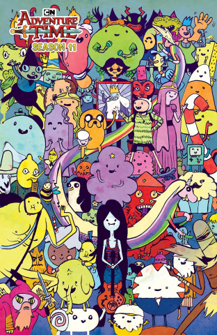 Adventure Time, Season 11 #1 (30 Copy Pope Cover)