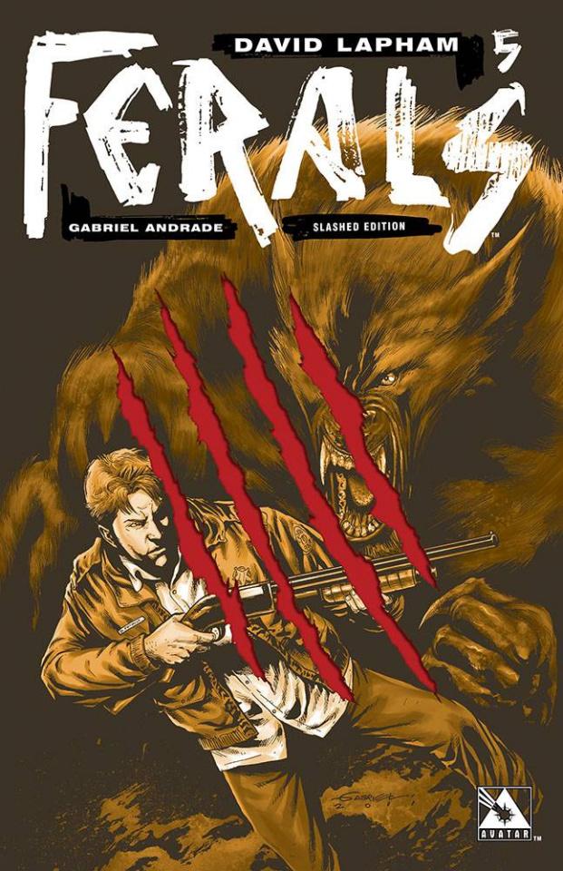 Ferals #5 (Slashed Cover)
