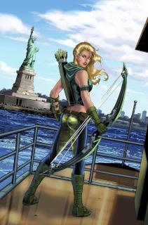Grimm Fairy Tales: Robyn Hood - I Love NY #12 (Riveiro Cover)
