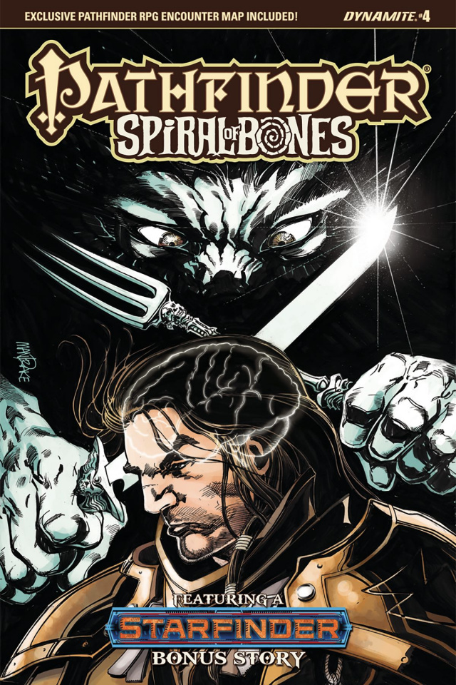 Pathfinder: Spiral of Bones #4 (Mandrake Cover)