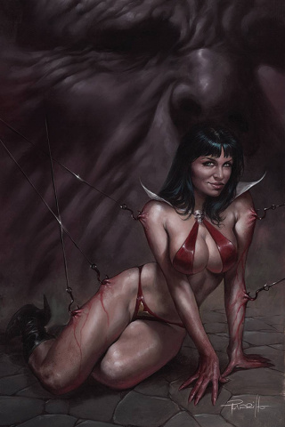 Vengeance of Vampirella #13 (Parrillo Virgin Cover)
