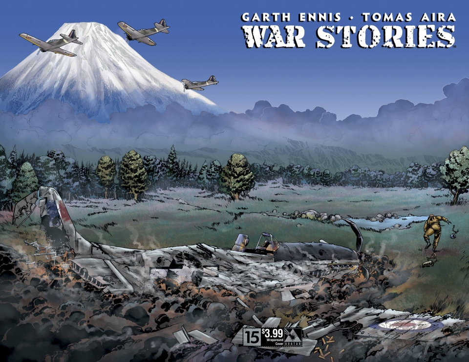 War Stories #15 (Wrap Cover)