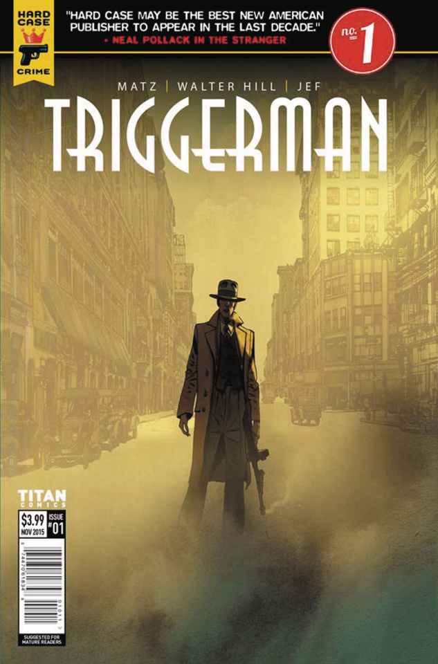 Hard Case Crime: Triggerman #1 (Jef Cover)
