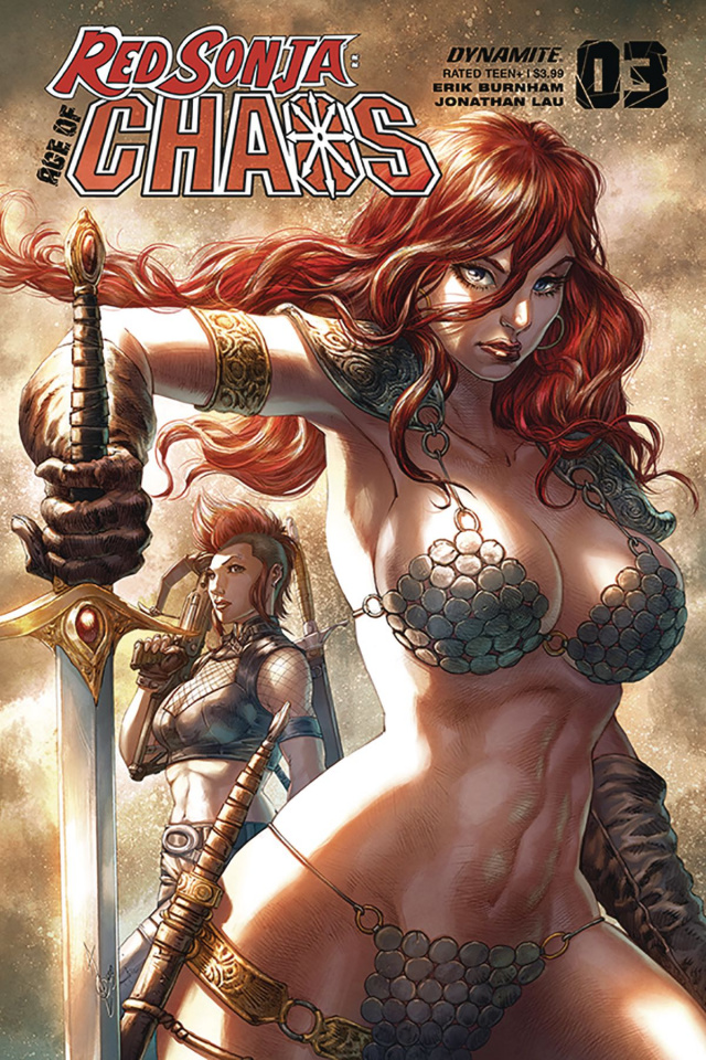 Red Sonja: Age of Chaos #3 (Quah Cover)