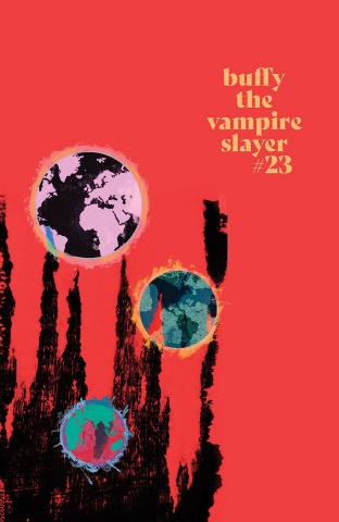 Buffy the Vampire Slayer #23 (Fire Carey Cover)