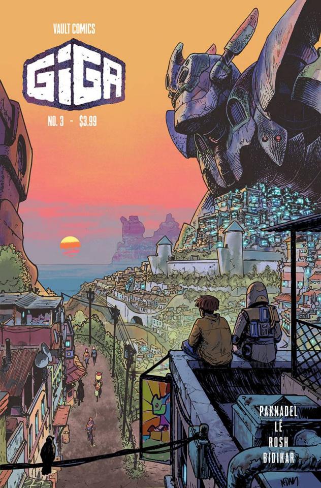 Giga #3 (Gorham Cover)