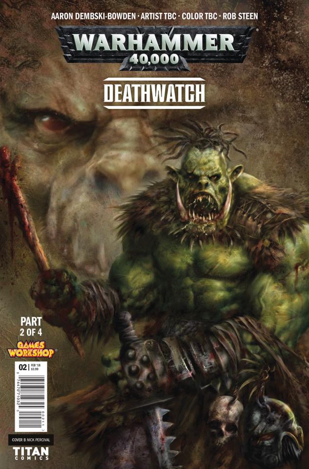 Warhammer 40,000: Deathwatch #2 (Bettin Cover)
