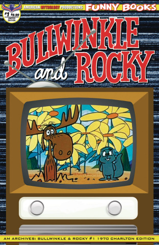 American Mythology Archives: Bullwinkle and Rocky #1 (Retro Cover)