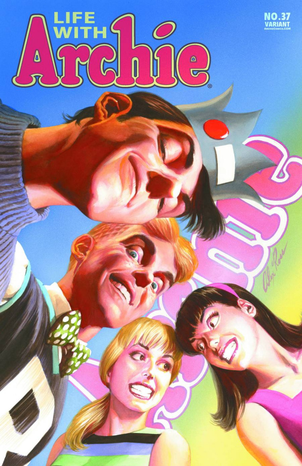 Life With Archie Comic #37 (Alex Ross Cover)